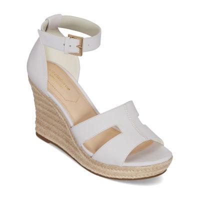 Liz Claiborne Womens Maderia Wedge Sandals