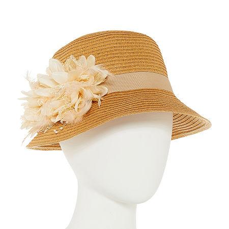 1920s Accessories: Feather Boas, Cigarette Holders, Flasks August Hat Co. Inc. Cloche Hat $13.99 AT vintagedancer.com