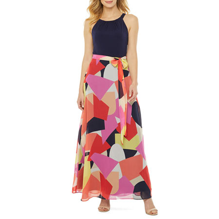 500 Vintage Style Dresses for Sale | Vintage Inspired Dresses R  K Originals Sleeveless Geometric Maxi Dress $37.49 AT vintagedancer.com