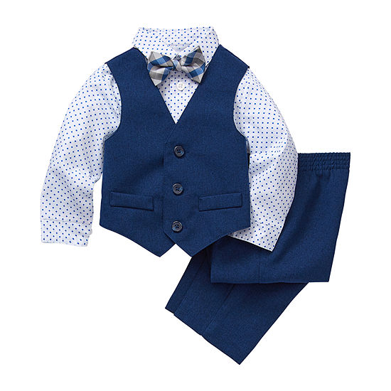 Van Heusen Baby Boys 4-pc. Suit Set