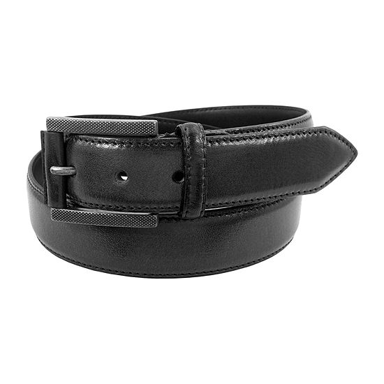 Stacy Adams® Etched Buckle Belt