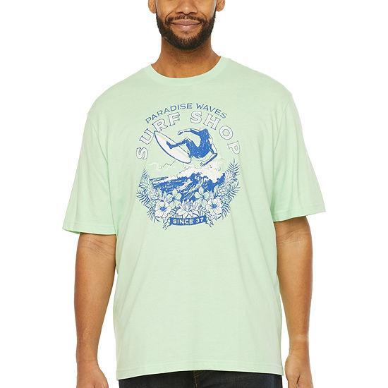 IZOD Mens Big and Tall Graphic T-Shirt