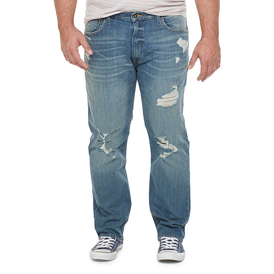 The Foundry Big & Tall Supply Co. Mens Tapered Athletic Fit Jean-Big and Tall