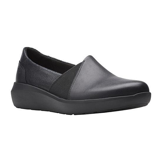 Clarks Womens Kayleigh Step Slip-On Shoe