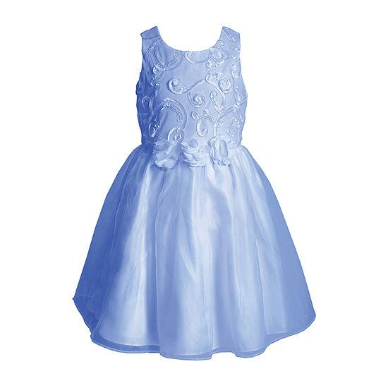 Sweetheart Rose Toddler Girls Sleeveless A-Line Dress