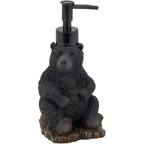 Avanti Black Bear Lodge Soap Dispenser