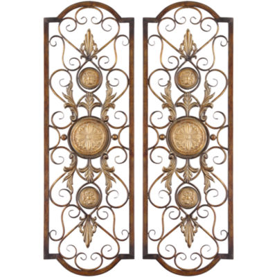 Micayla Set of 2 Metal Wall Decor