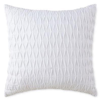 Liz Claiborne® Arabesque Beaded Square Decorative Pillow