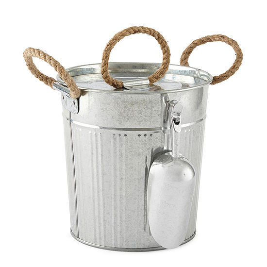 JCPenney Home™ Galvanized Iron Ice Bucket