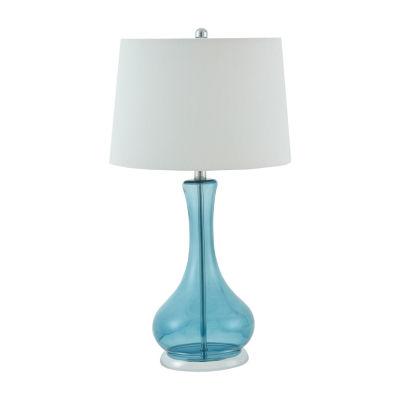 510 Design Barbet Set Of 2-pc Glass Table Lamp