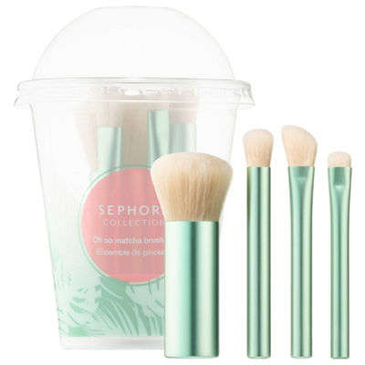 SEPHORA COLLECTION Oh so matcha brush set
