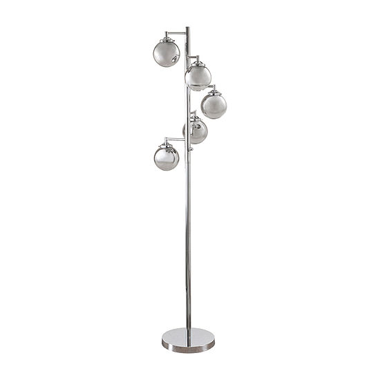 Madison Park Barton Metal Floor Lamp