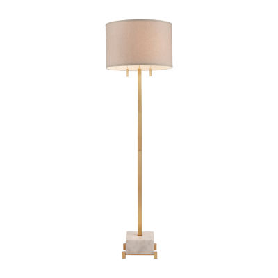 Madison Park Signature Leyton Metal Floor Lamp