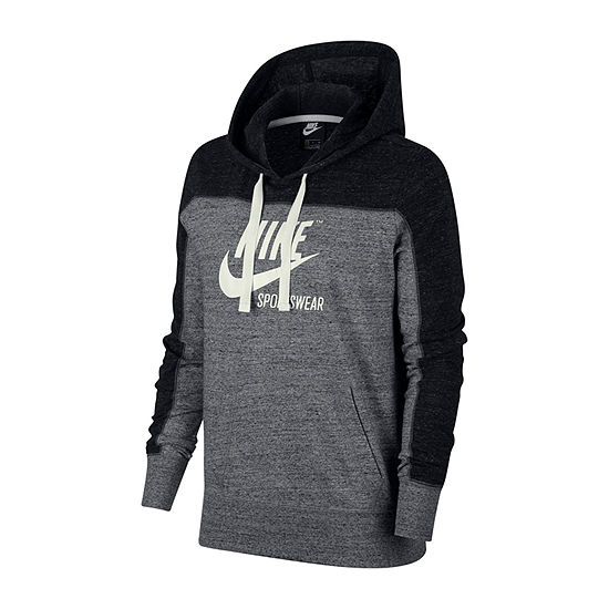 96fcb0541 Nike Women's Gym Vintage Colorblock Hoodie - JCPenney