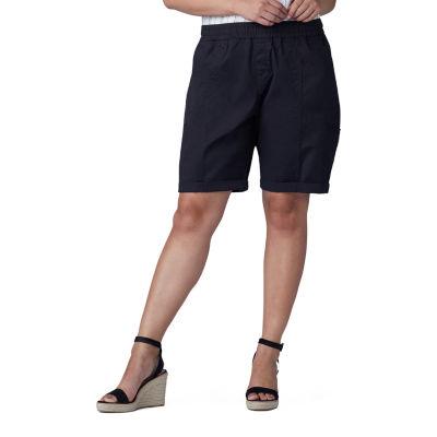 "Lee Pull On 10"" Bermuda Shorts - Plus"