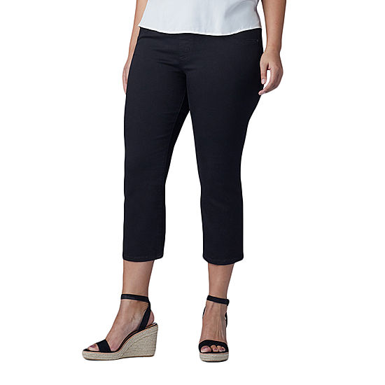 101bccbf362 Lee Pull On Capri Mid Rise Plus Capris - JCPenney