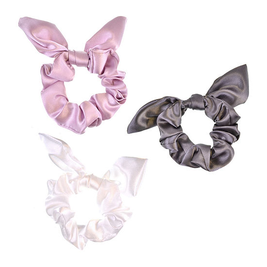 Mixit Bow Scrunchie 3-pc. Hair Ties