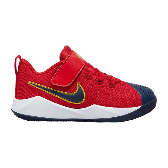 Nike Team Hustle Quick 2 Little Kids Boys Basketball Shoes