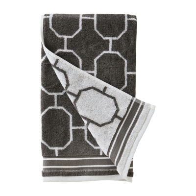 Saturday Knight Vern Yip Lithgow Geometric Bath Towel