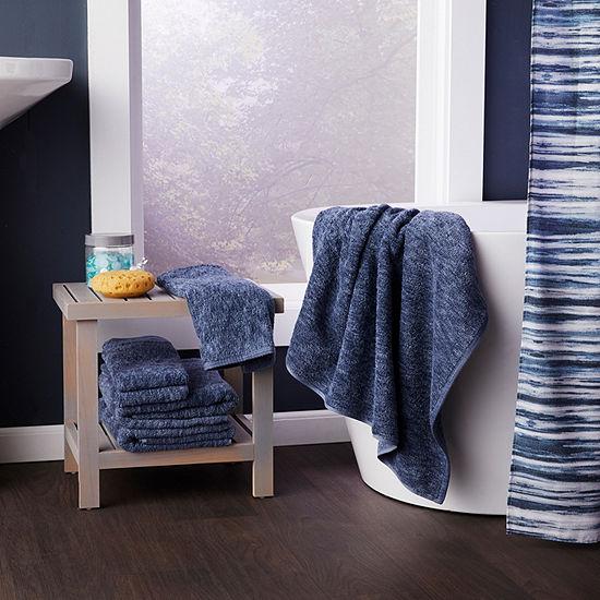 Saturday Knight Vern Yip Shibori Stripe Shower Curtain