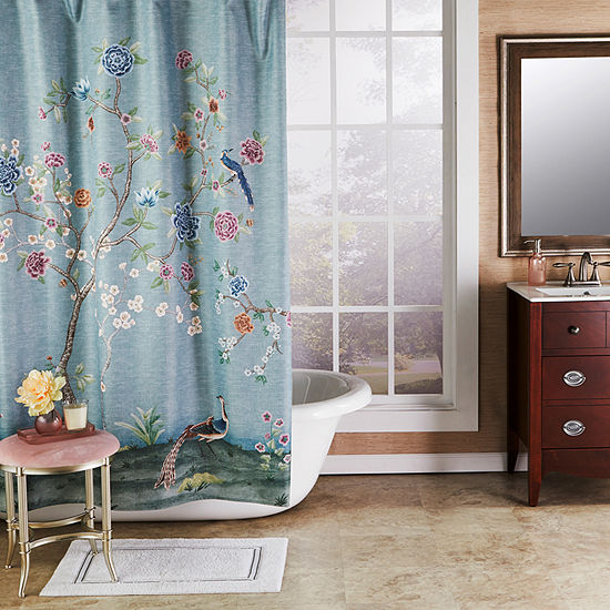 Saturday Knight Vern Yip Spring Blooms Shower Curtain