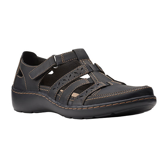 Clarks Womens Cora River Slip-On Shoe