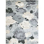Amer Rugs Shimmer AB Hand-Tufted Wool and Viscose Rug