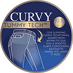 Angels Tummy Tech Modern Fit Bootcut Jeans - Plus