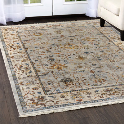 Home Dynamix Rutherford Adileh Border Rectangular Rug
