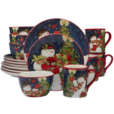 Certified International Starry Night 16-pc. Dinnerware Set