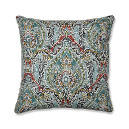 Pillow Perfect Pretty Witty Reef 25-Inch Outdoor Floor Pillow