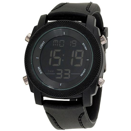 Womens Black Bracelet Watch-Mst5468bk100-003