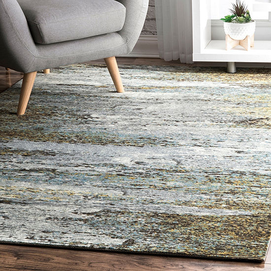nuLoom Monet Abstract Rug
