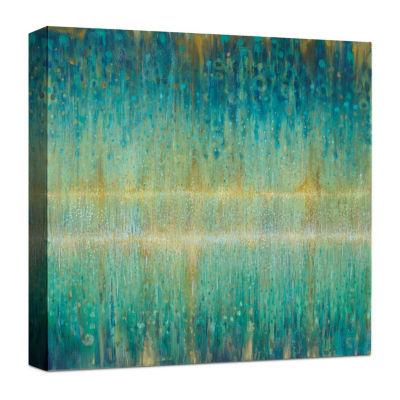 Rain Abstract I Canvas Art