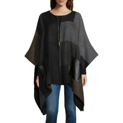 Mixit Block Zip Cold Weather Wrap
