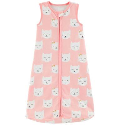Carter's Little Baby Basics Girls Sleeveless Baby Sleeping Bags