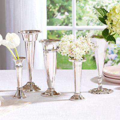 Two's Company Set Of 5 Vases