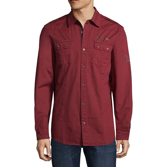 df51d7b7a850 i jeans by Buffalo Long Sleeve Button Front Shirt JCPenney