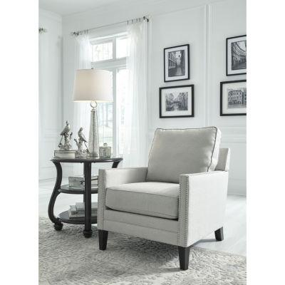 Signature Design By Ashley® Tiarella Nailhead Trim Track Arm Accent Chair