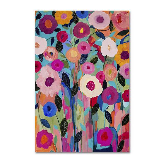 Trademark Fine Art Carrie Schmitt Autumn Splendor Giclee Canvas Art