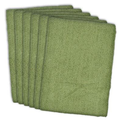 Essential Microfiber Dishtowel - Set of 6