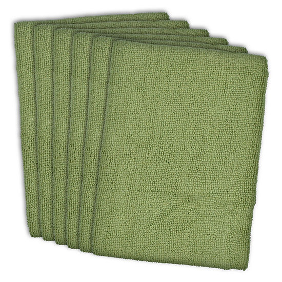 Essential Microfiber Dishtowel - Set of 6
