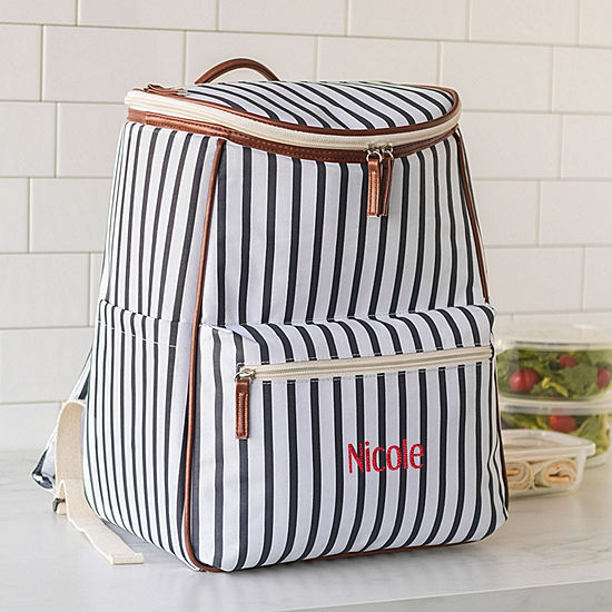 Cathy's Concepts Personalized Striped Backpack Cooler