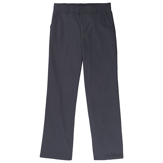 French Toast Boys 4-20 Relaxed Fit Twill Pant- Regular & Husky
