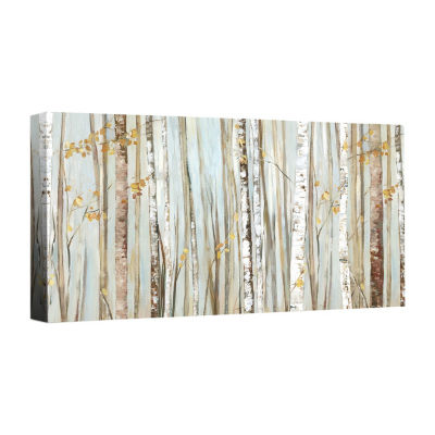 Birchscape I Canvas Art