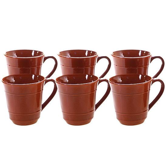 Certified International Autumn Fields 6-pc. Coffee Mug