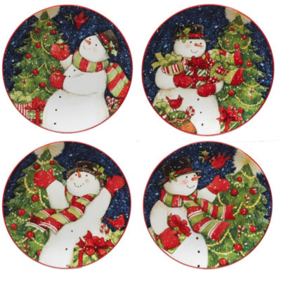 Certified International Starry Night 4-pc. Salad Plate