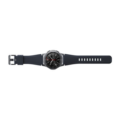 Samsung Gear S3 Compatible Unisex Black Watch Band-Et-Ysu76mbegus