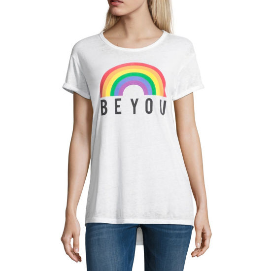 "Rainbow ""Be You"" Tee - Juniors"