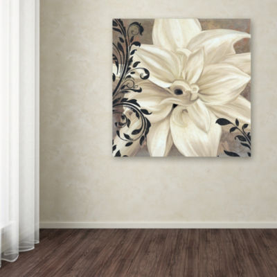 Trademark Fine Art Color Bakery Winter White II Giclee Canvas Art